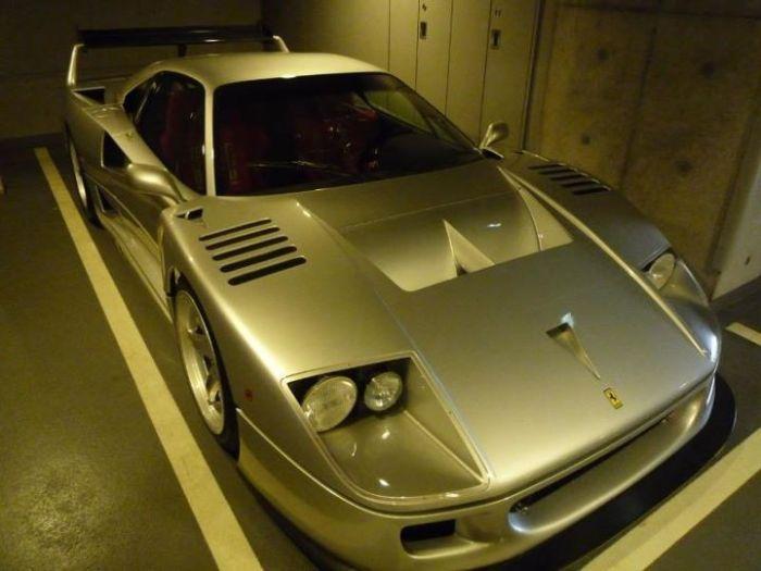 Коллекция суперкаров японского богача