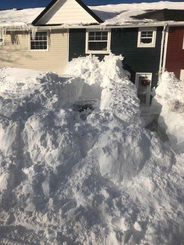 В Канаде выпало рекордное количество снега