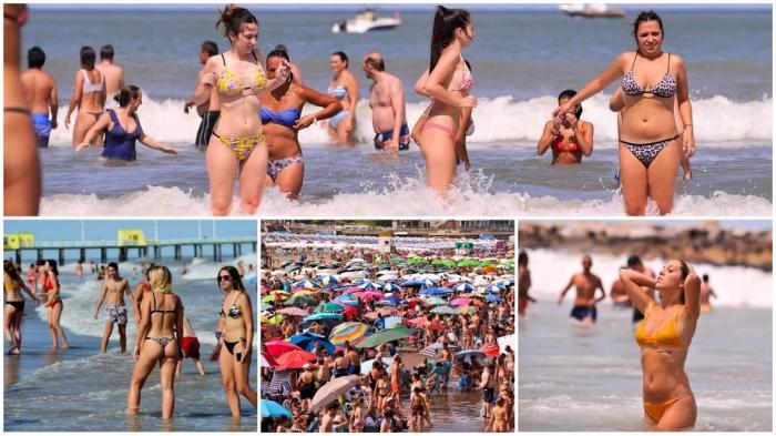 Лето на аргентинских пляжах