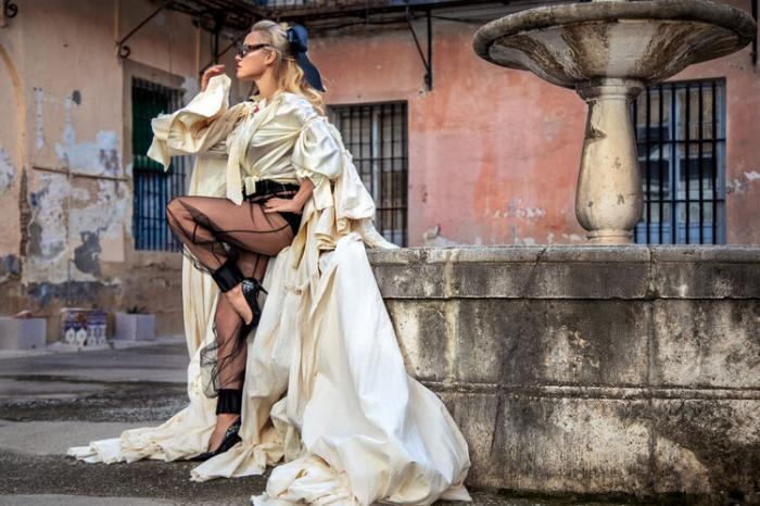Памела Андерсон в журнале Vanity Fair Italia