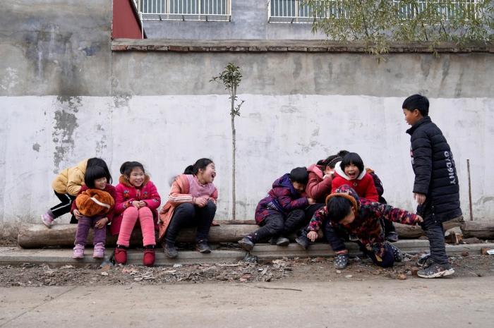 Январские фото из Китая