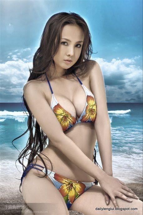 Горячая китаяночка Ган Лулу