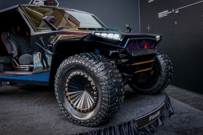 Белорусский ответ «Хаммеру»: гипервнедорожник Ramsmobile за 109 миллионов с гусеницей и кальяном