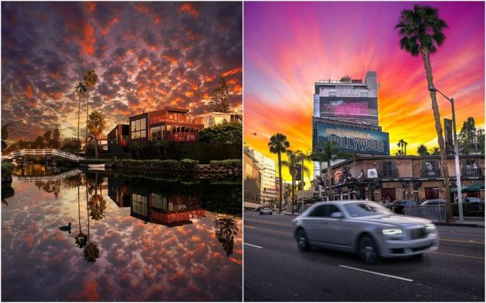 Красочные пейзажные снимки Нейта Кэрролла