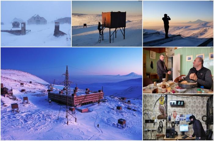 Ловцы космических лучей в Армении