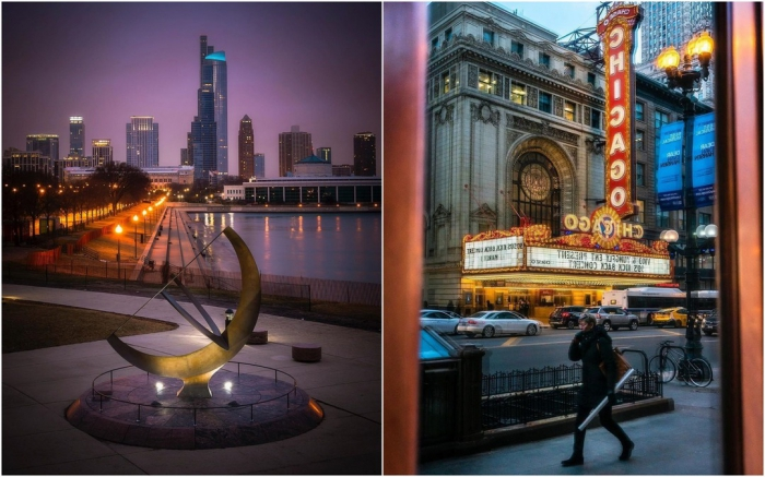 Улицы Чикаго на снимках Эрика Марталера