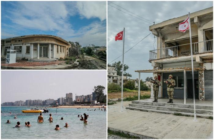 Заброшенный средиземноморский курорт Вароша на Кипре