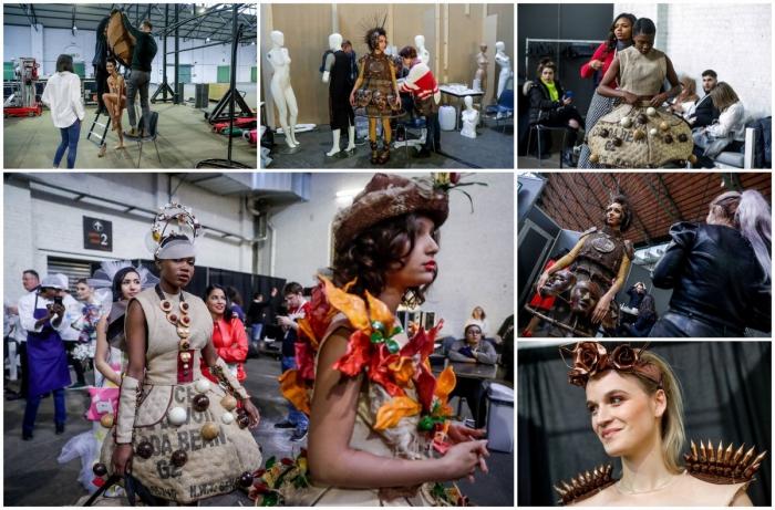 Самая сладкая мода: шоколадные наряды в Брюсселе