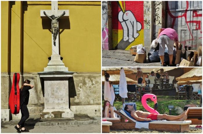 Неожиданные совпадения на уличных снимках Антимоса Нтагкаса