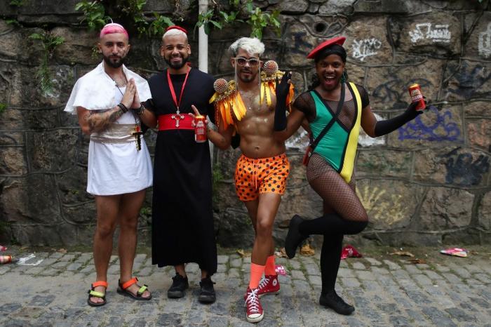 Карнавалы и шествия в Бразилии