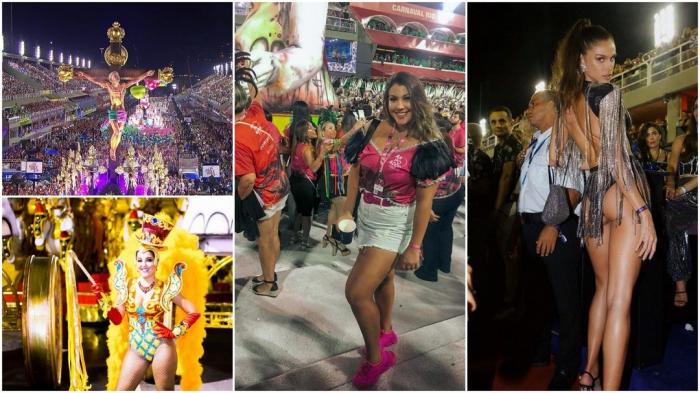 Бразильский карнавал на фото в Instagram