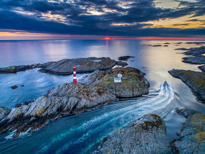 Красивые норвежские пейзажи на снимках Оле Моена