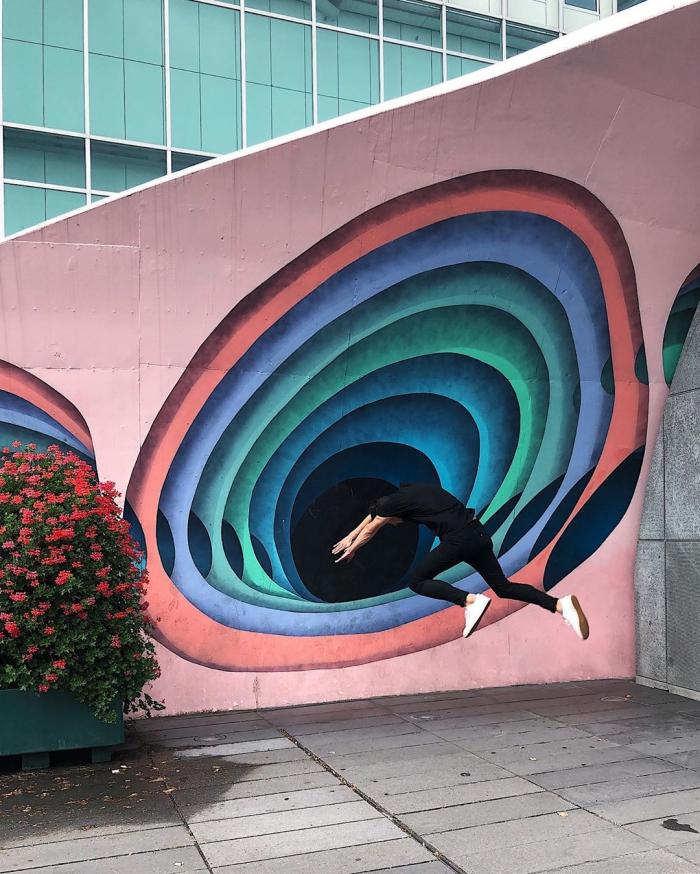 Креативные уличные снимки Тиаго Силва