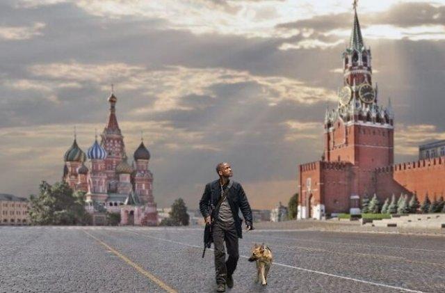 Немного о Москве на самоизоляции