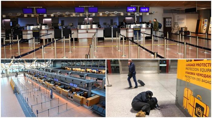 Пустые аэропорты: как коронавирус парализовал туризм