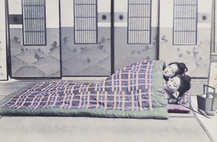 Редкие снимки Японии 130 лет назад