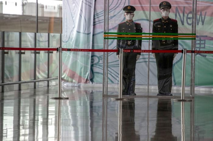 Мартовские снимки из Китая