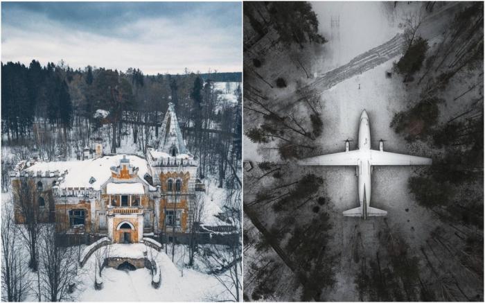 Заброшенная Россия: атмосферные снимки Алексея Полякова