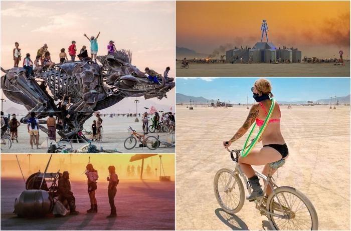 Впервые в истории отменили фестиваль Burning Man