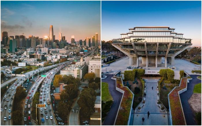 Потрясающие городские и архитектурные снимки Гэвина Джорджа