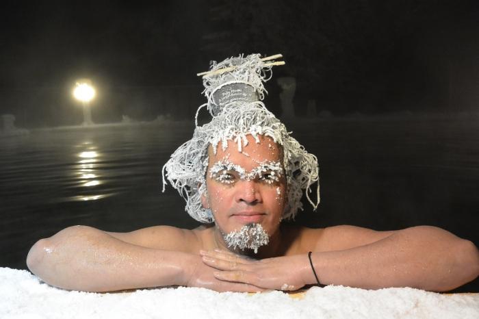 Конкурс замороженных причесок в Канаде