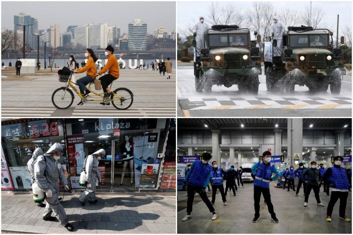Интересные кадры из Южной Кореи