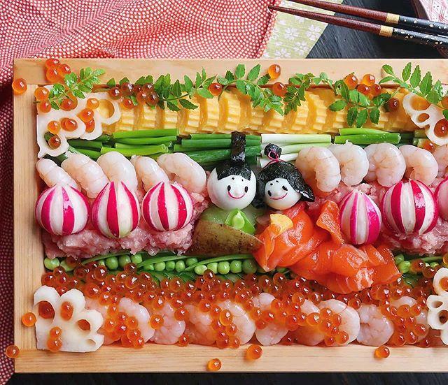 Веселые блюда от мамы из Японии