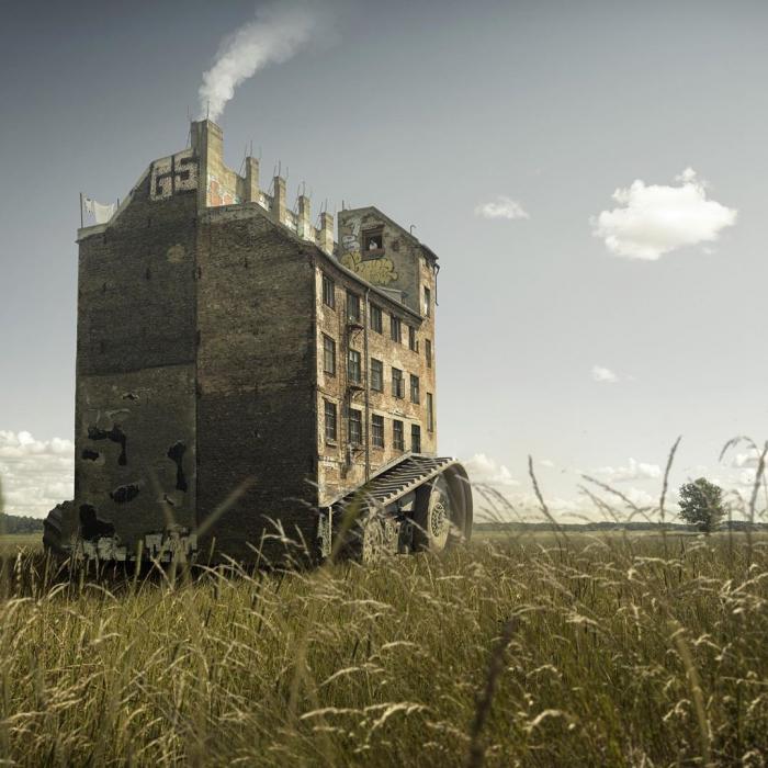 Сюрреалистические фотоманипуляции Эрика Йоханссона