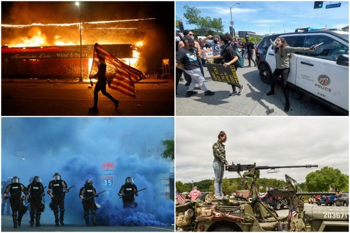 Интересные снимки, сделанные в США на прошлой неделе