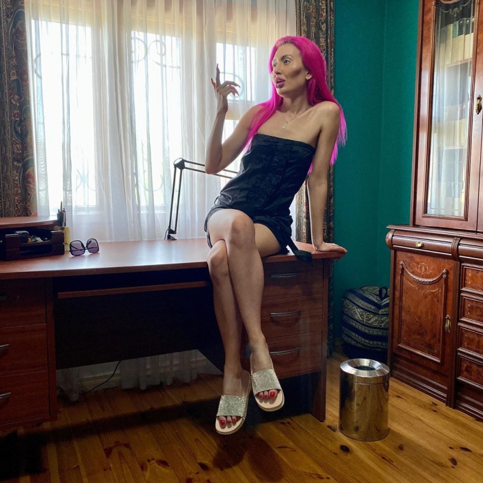 """Страшно """"красивая"""" блогерша из Киева"""