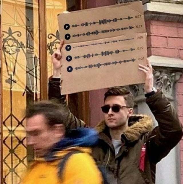 Что думают пользователи социальных сетей про голосовые сообщения