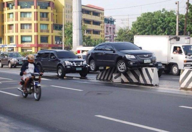 Автомобильные аварии, которые довольно сложно объяснить