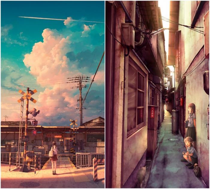 Замечательные иллюстрации Kouki Ikegami