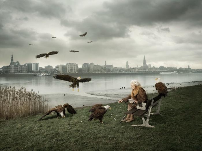 Атмосферные снимки Geert De Taeye