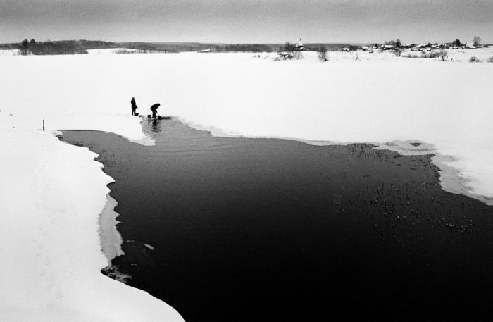 «Колодозеро»: атмосферные черно-белые снимки Алексея Мякишева