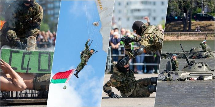 Праздник в честь 90 лет ВДВ прошел в Минске
