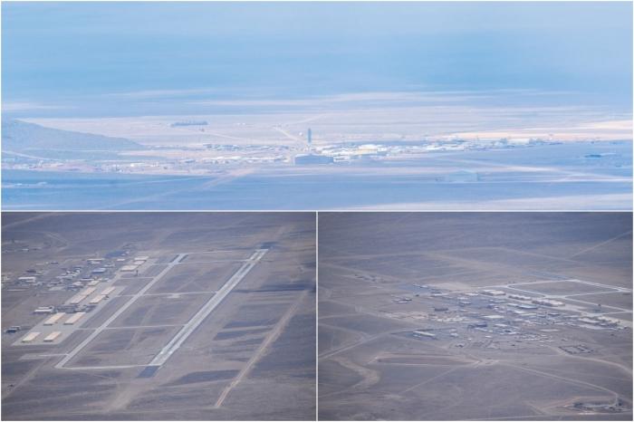Пилот сделал удивительные снимки Зоны 51