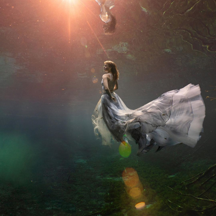 Потрясающие подводные фото Лекси Лайн