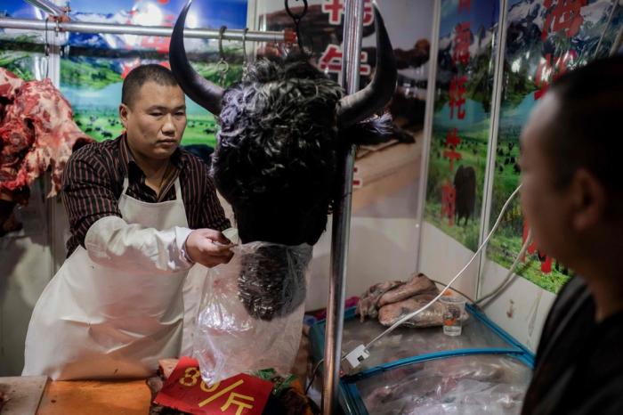 Как килька в банке: уханьский аквапарк забит посетителями