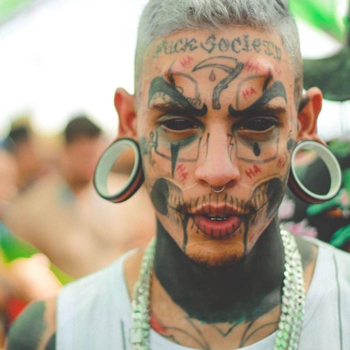 Люди, изуродовавшие свою внешность