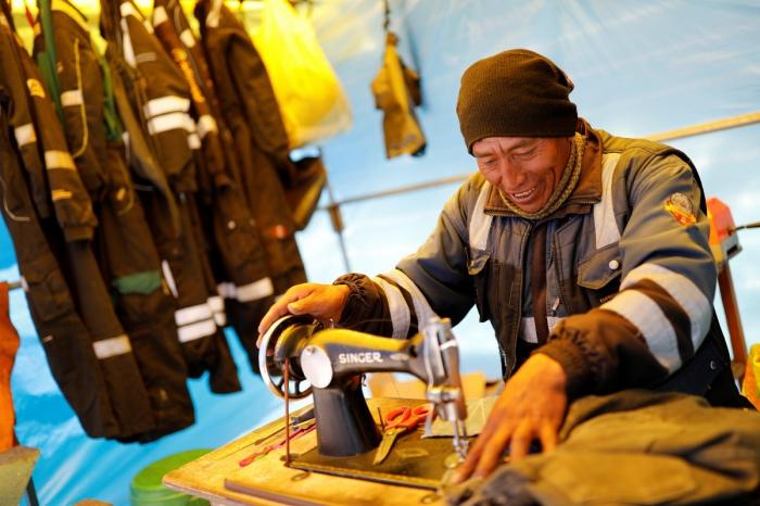 Золотоискатели Перу в проекте Начо Досе
