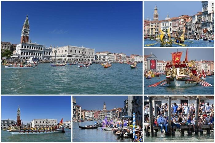 Ежегодная Историческая Регата в Венеции