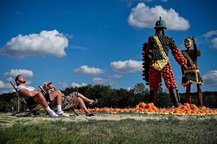 Ежегодный немецкий фестиваль тыкв