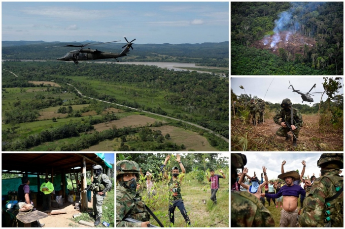 """Операция """"Артемиса"""" в Колумбии"""