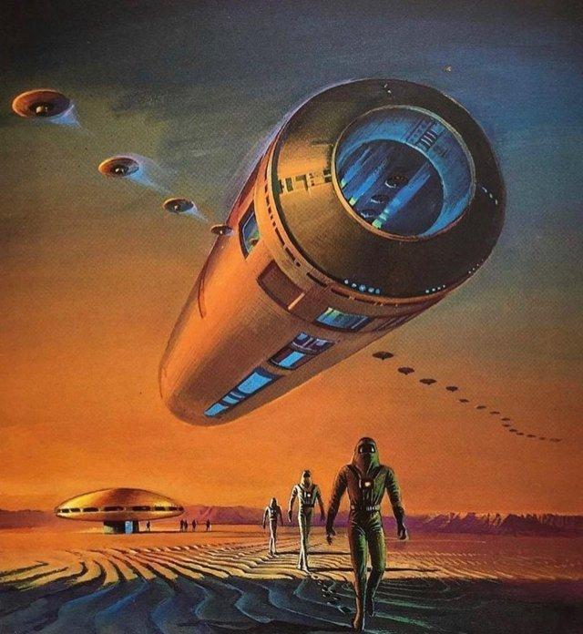 Будущее, которое предрекали нам футуристические художники