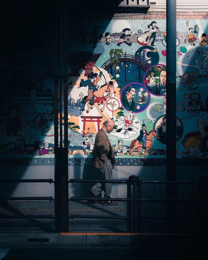 Улицы Японии на снимках Джеймса Такуми Шегуна