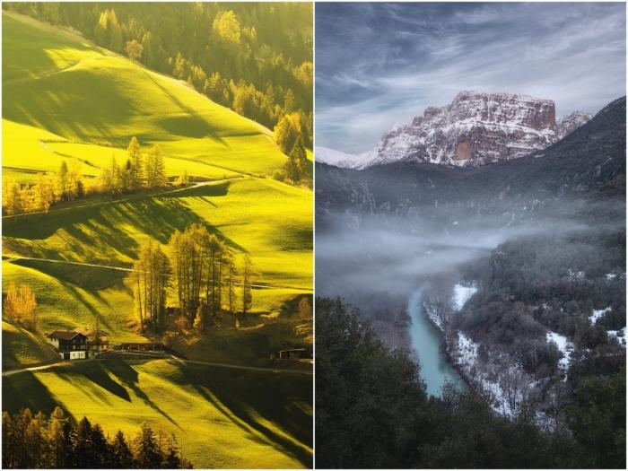 Красивые пейзажные снимки Александроса Малапетсаса