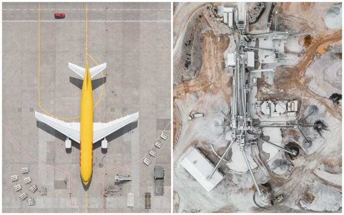 Захватывающие аэрофотоснимки Тома Хегена