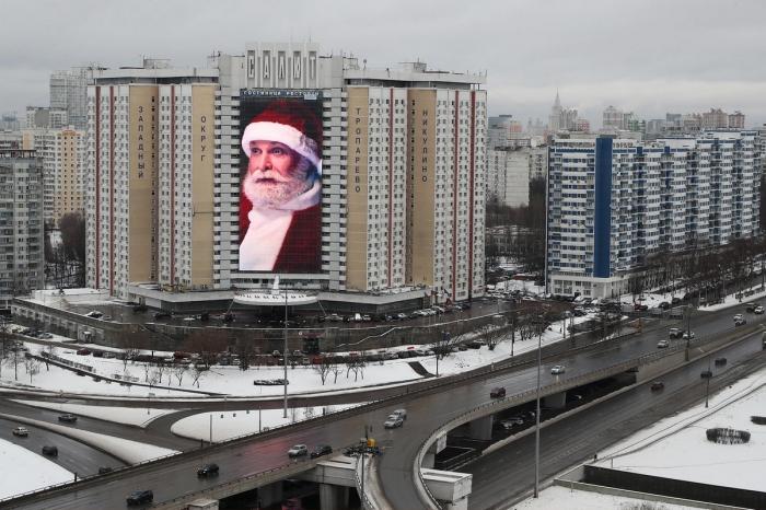 Декабрьские снимки из России