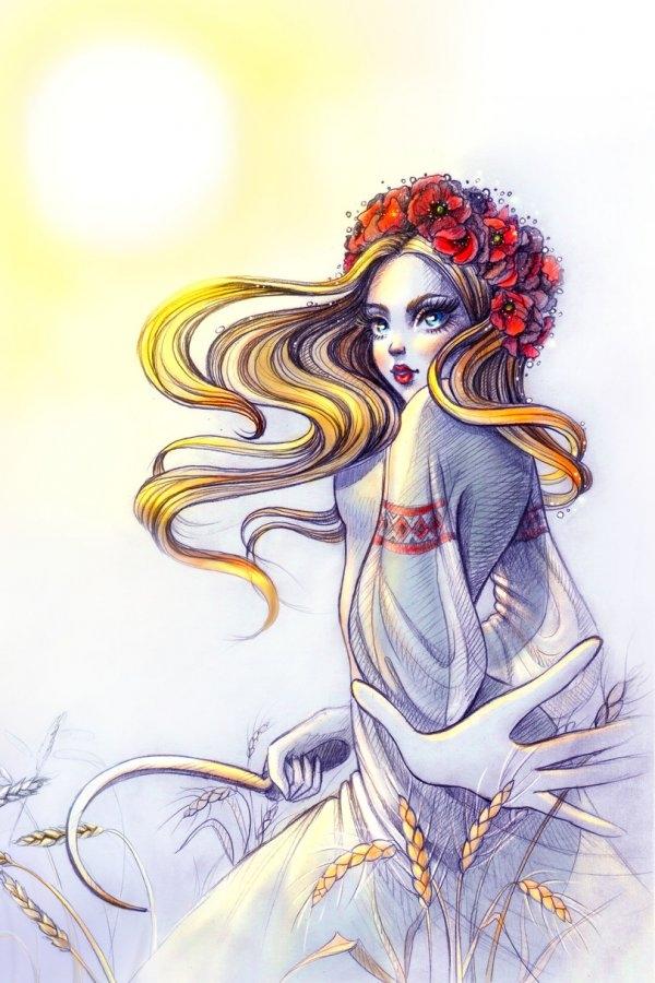 Нарисованая красотища